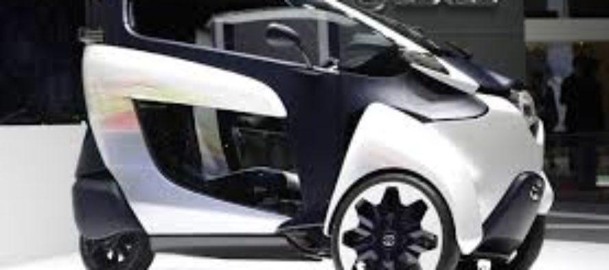 Toyota með nýjan rafmagnsbíl