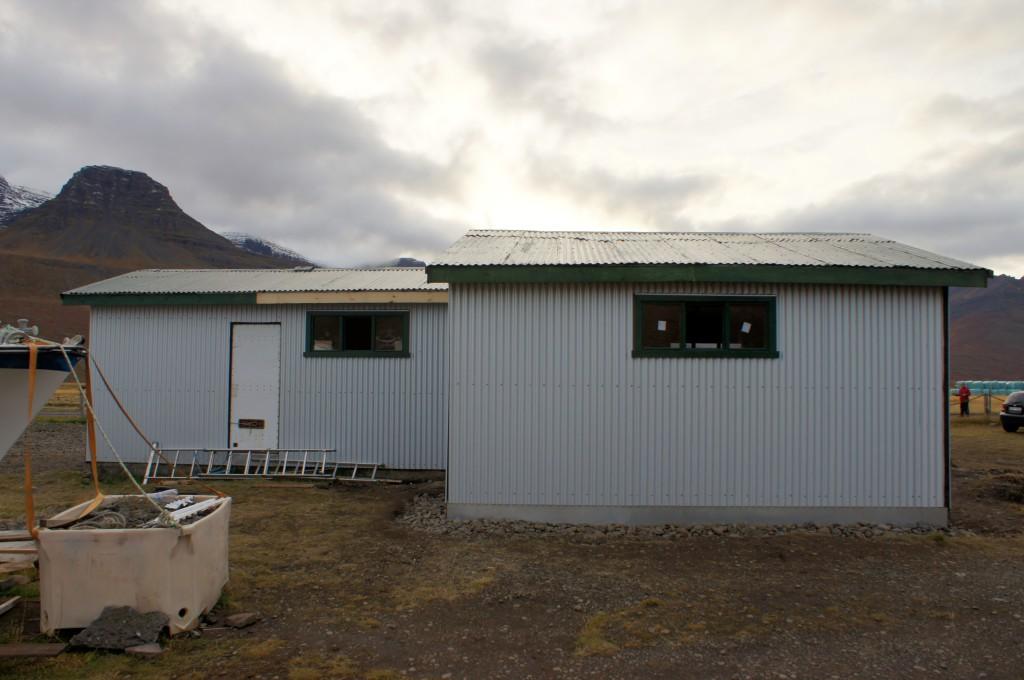 Norðurhlið eftir breytingar
