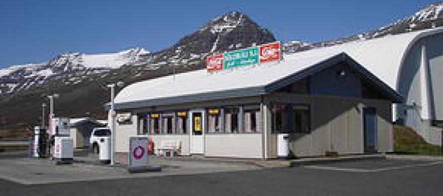 Söluskáli Stefáns Jónssonar á Fáskrúðsfirði