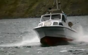 Sjóferð með Kríu um Fáskrúðsfjörð, myndband