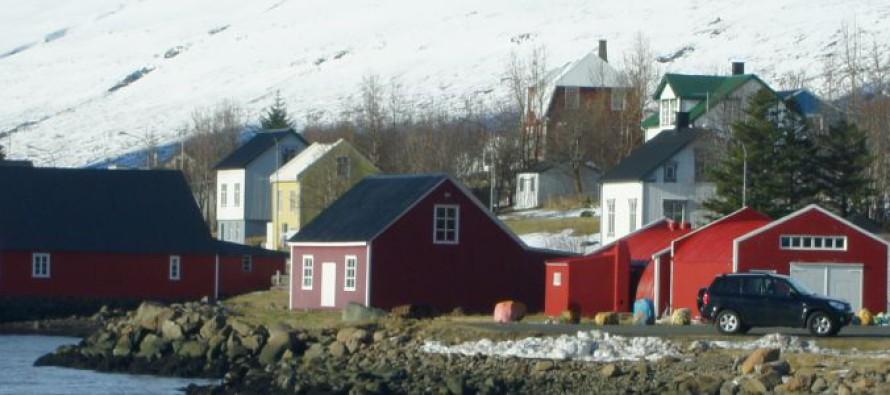 Bryggjuhúsin á Eskifirði