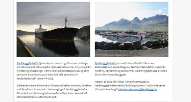 Fjarðabyggð – Sex milljónir í vefsíðuviðbót