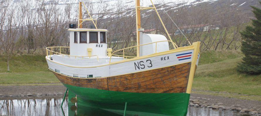 Bæjartákn Fáskrúðsfjarðar – Rex NS-3