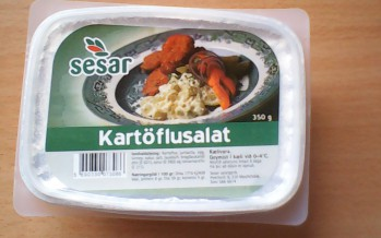Kartöflusalatið 6 daga fram yfir Best fyrir dagsetningu