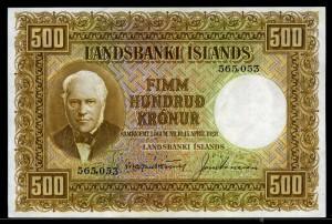 Iceland_500_Kronur_banknote_of_1928