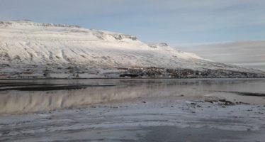 Sólin er mætt í Fáskrúðsfjörðinn
