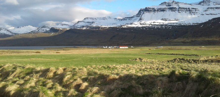Fallegur dagur á Fáskrúðsfirði