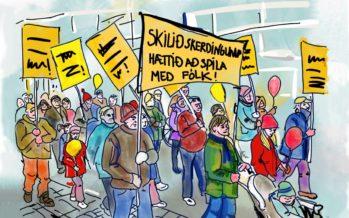 Efling og Öryrkjabandalag Íslands berjast saman fyrir bættum kjörum