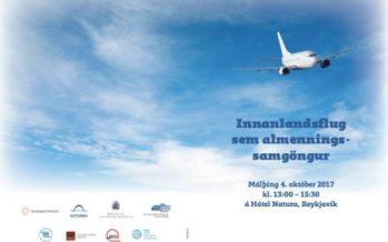 Innanlandsflug sem almenningssamgöngur – Fróðleikur