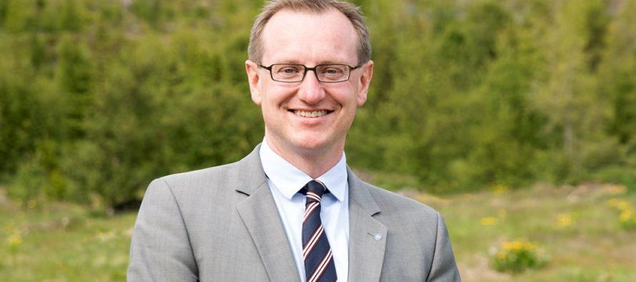 Kveðja frá Páli Björgvini Guðmundssyni